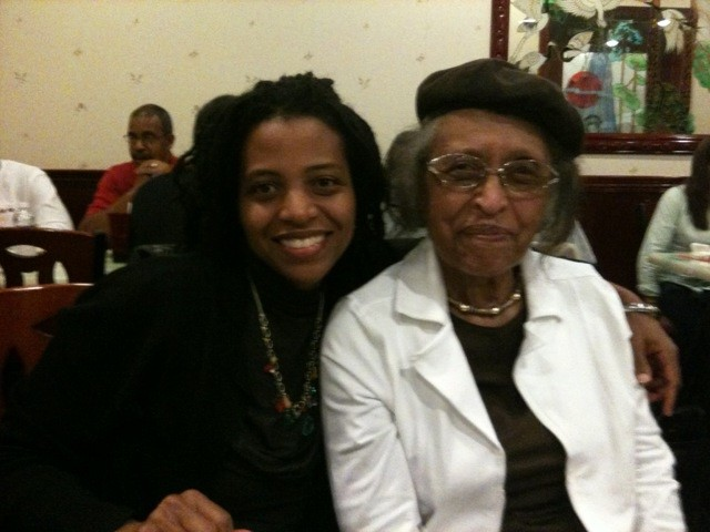 Ms. Meltingpot and her Grandmother. Black and proud for almost 100 years.