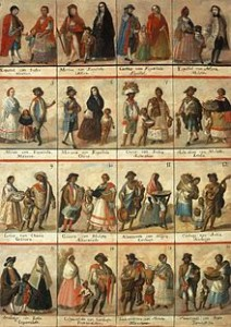 So, these colonial Spanish Castas paintings didn't help, or rather they did help give the Spanish speaking world a social hierarchy based on color.